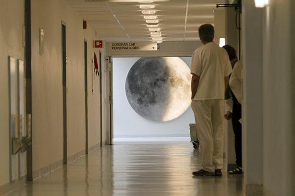 Månfaser och Solgång på Falu Lasarett