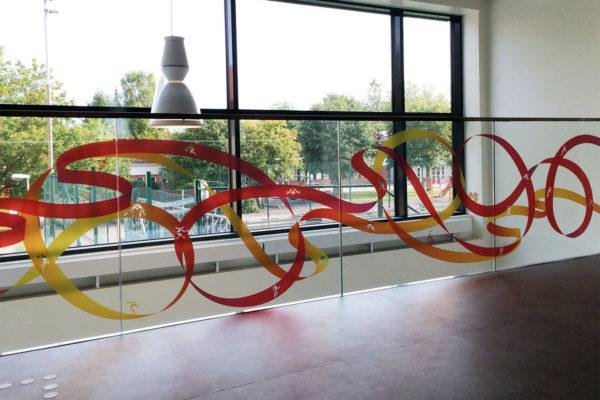 Glaskonst skapar flow i Centralhallen